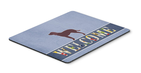 Buy this American Water Spaniel Welcome Mouse Pad, Hot Pad or Trivet BB5505MP