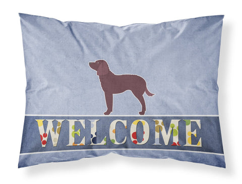 Buy this American Water Spaniel Welcome Fabric Standard Pillowcase BB5505PILLOWCASE