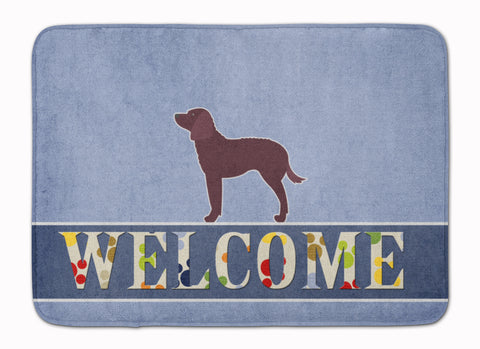 Buy this American Water Spaniel Welcome Machine Washable Memory Foam Mat BB5505RUG