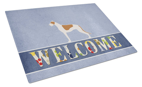 Buy this Greyhound Welcome Glass Cutting Board Large BB5509LCB
