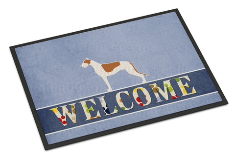 Buy this Greyhound Welcome Indoor or Outdoor Mat 18x27 BB5509MAT