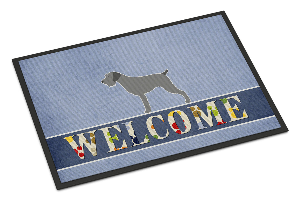 Buy this German Wirehaired Pointer Welcome Indoor or Outdoor Mat 18x27 BB5515MAT