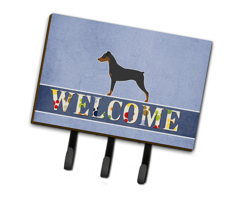 Buy this German Pinscher Welcome Leash or Key Holder BB5517TH68