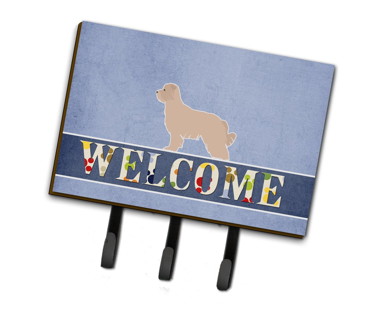 Pyrenean Shepherd Welcome Leash or Key Holder BB5522TH68 by Caroline's Treasures