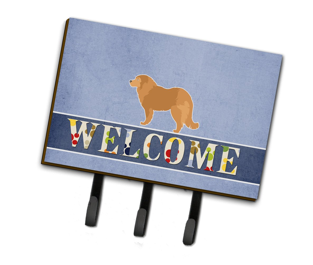 Caucasian Shepherd Dog Welcome Leash or Key Holder BB5529TH68 by Caroline's Treasures