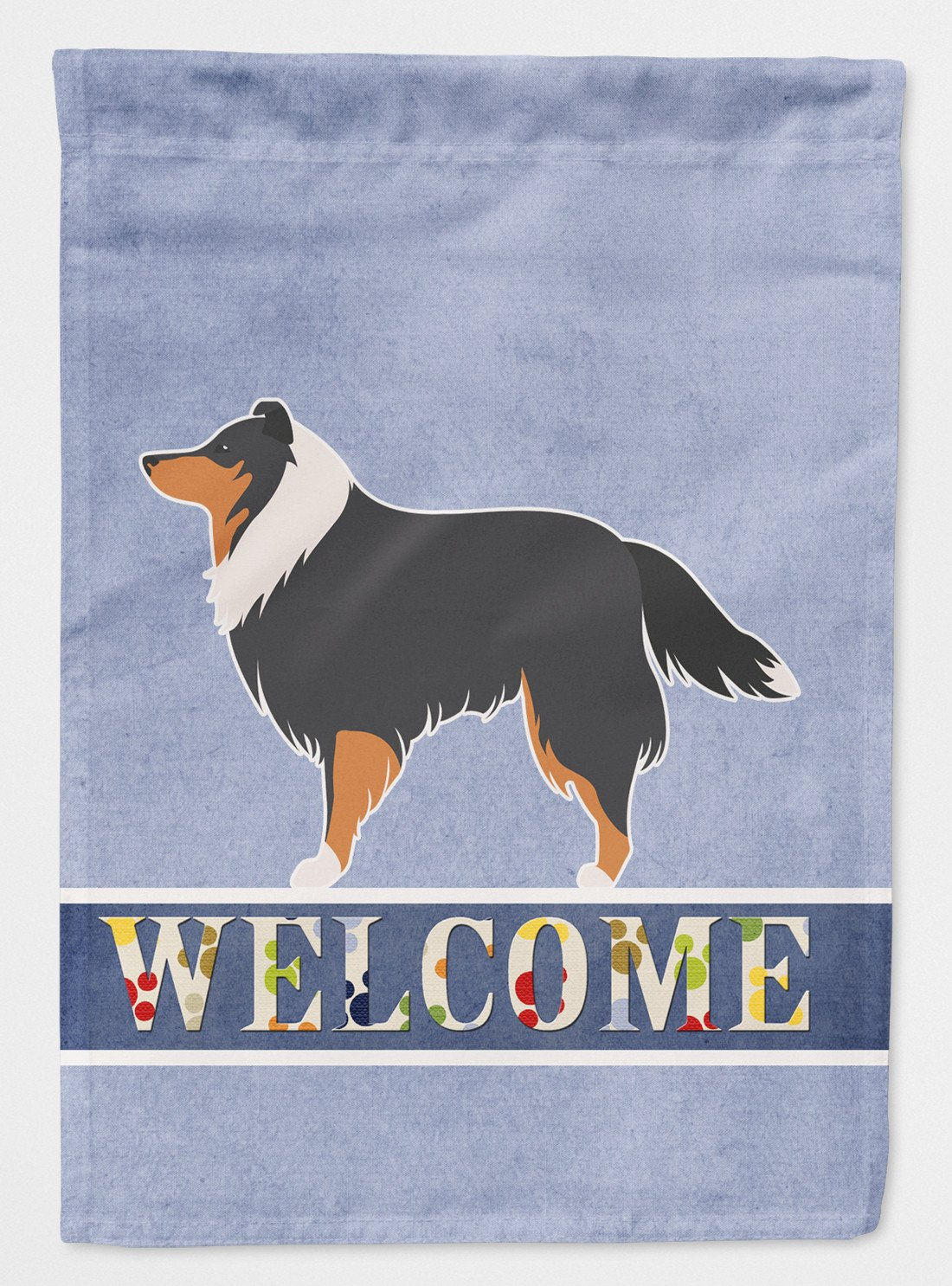 Buy this Sheltie/Shetland Sheepdog Welcome Flag Garden Size BB5534GF