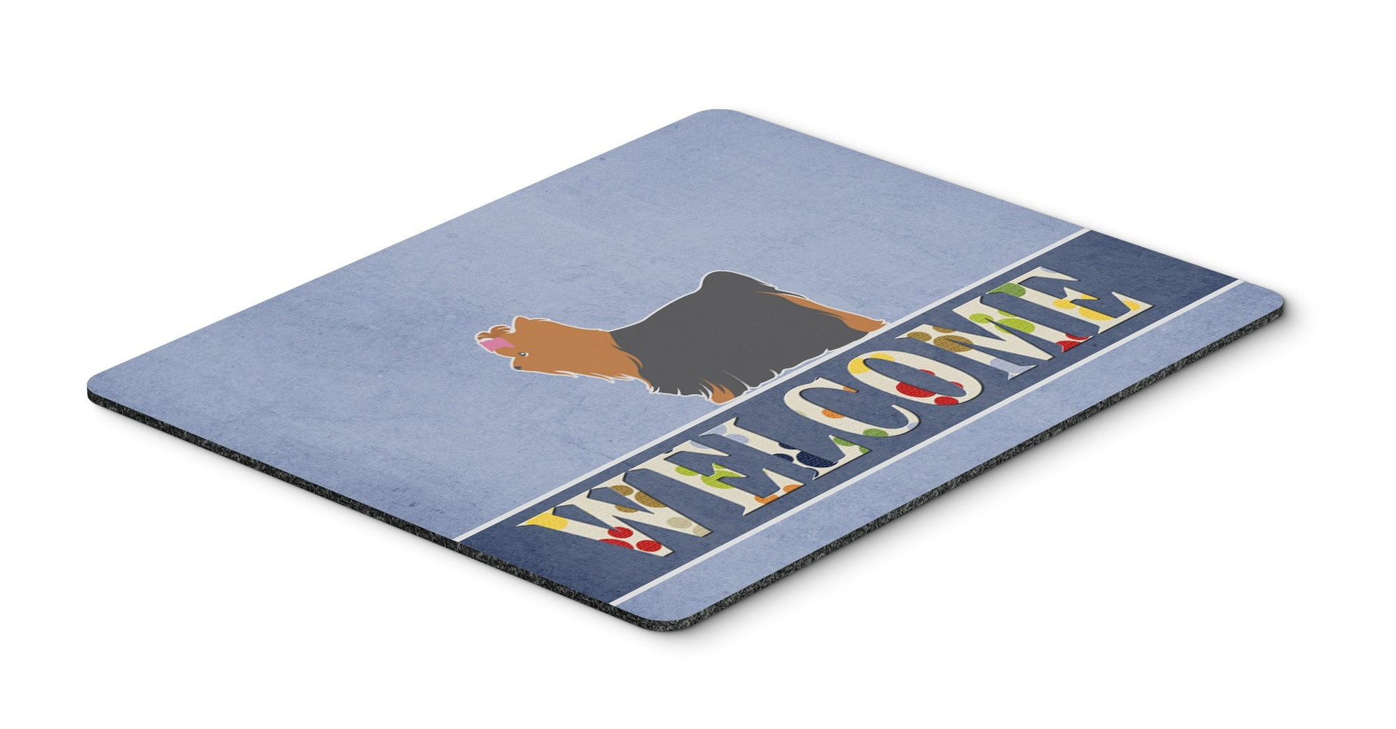 Buy this Yorkshire Terrier Yorkie Welcome Mouse Pad, Hot Pad or Trivet BB5538MP
