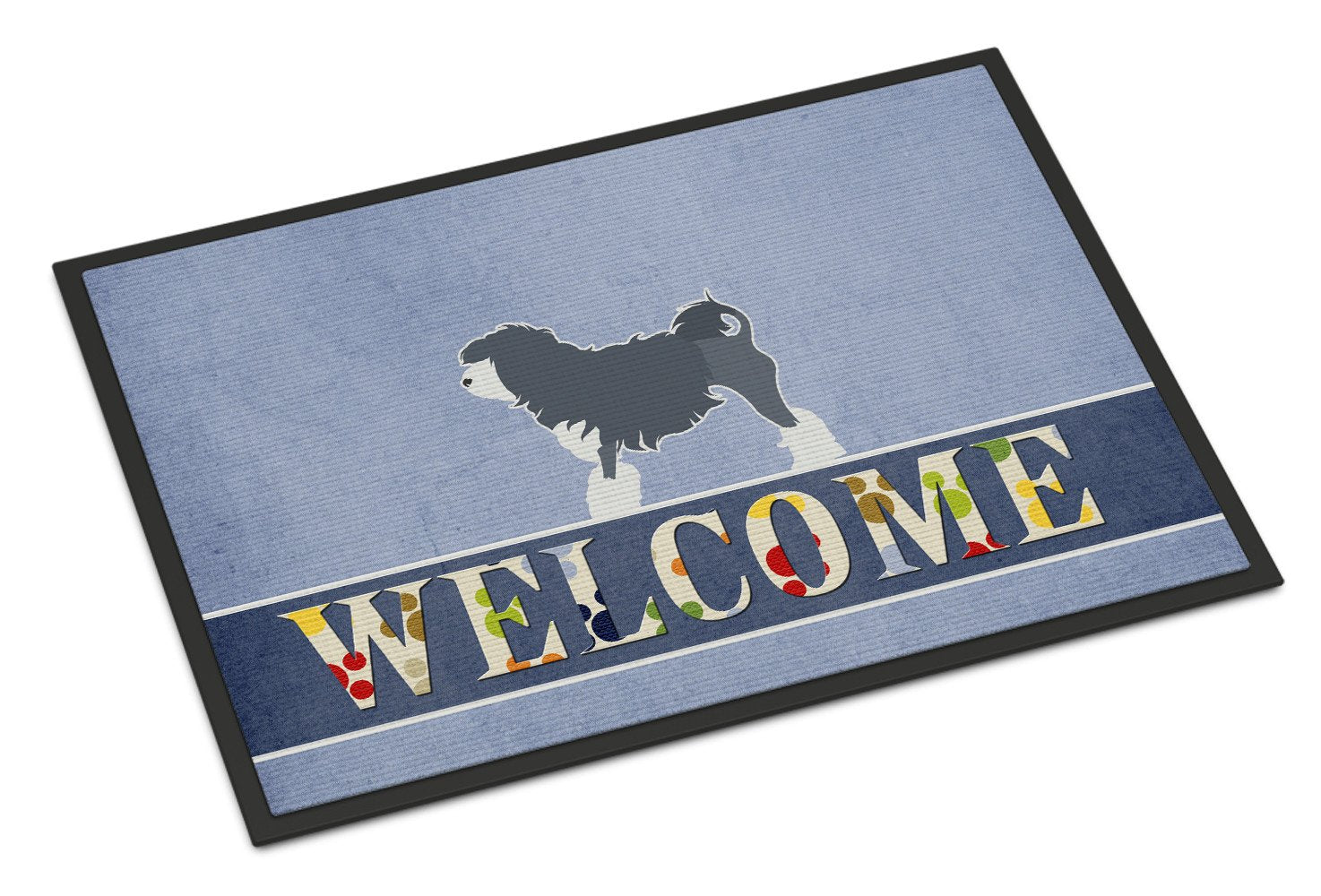 Lowchen Welcome Indoor or Outdoor Mat 24x36 BB5539JMAT by Caroline's Treasures