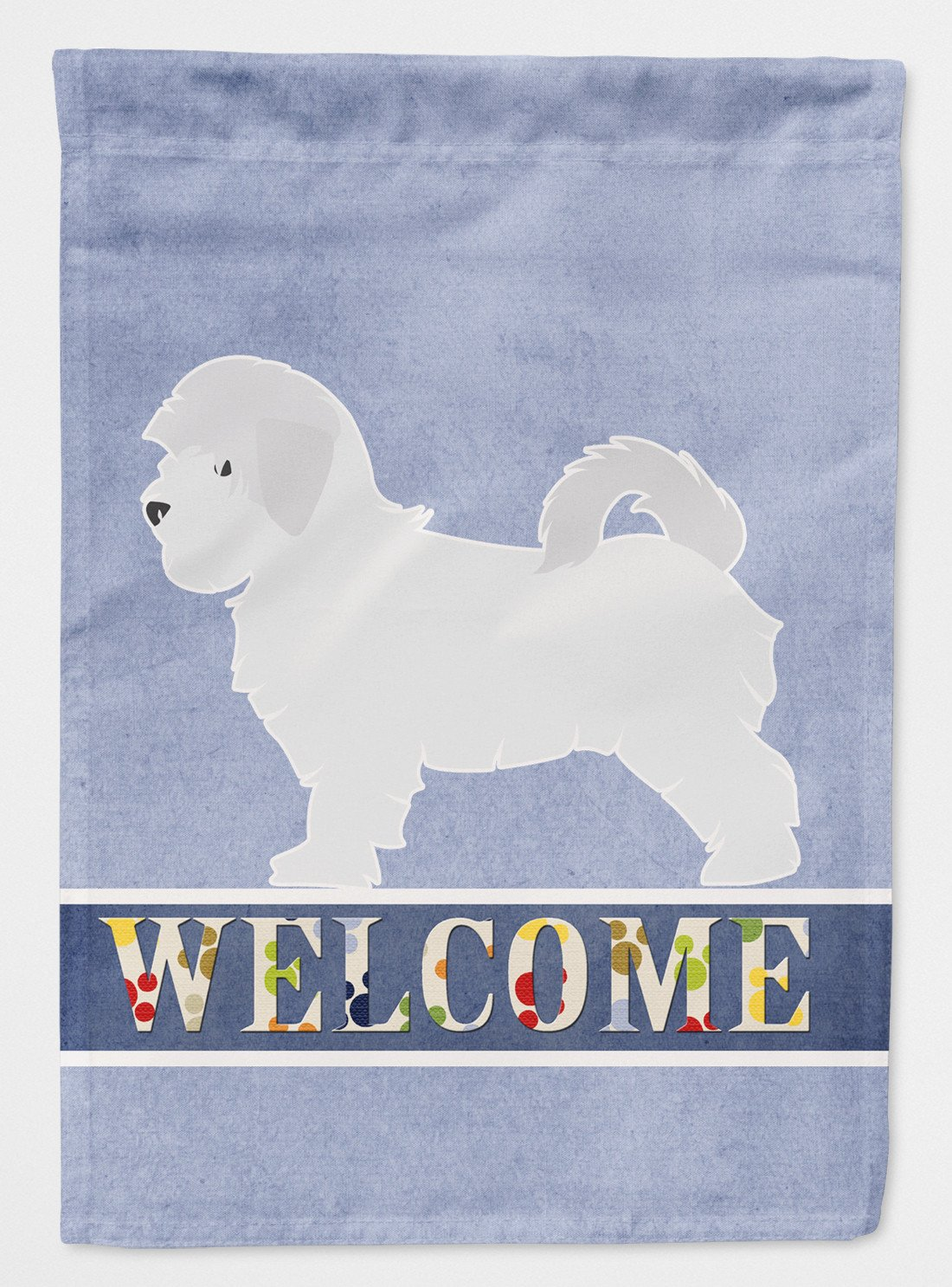 Maltese Welcome Flag Garden Size BB5540GF by Caroline's Treasures