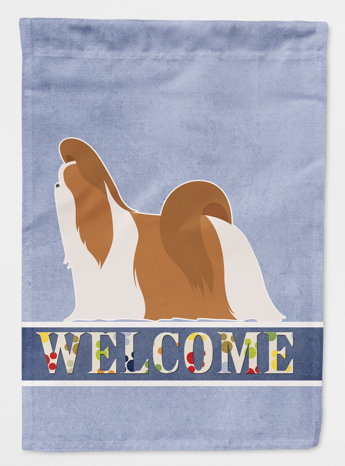 Buy this Shih Tzu Welcome Flag Garden Size BB5550GF