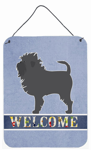 Buy this Affenpinscher Welcome Wall or Door Hanging Prints BB5552DS1216