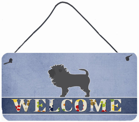 Buy this Affenpinscher Welcome Wall or Door Hanging Prints BB5552DS812