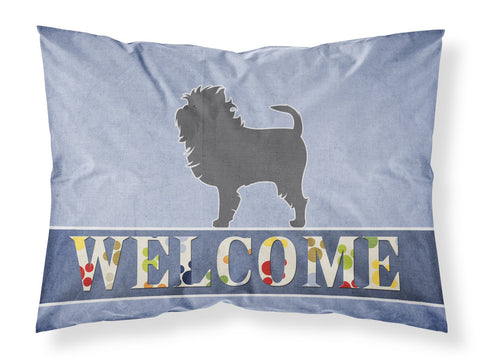 Buy this Affenpinscher Welcome Fabric Standard Pillowcase BB5552PILLOWCASE