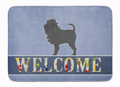 Buy this Affenpinscher Welcome Machine Washable Memory Foam Mat BB5552RUG