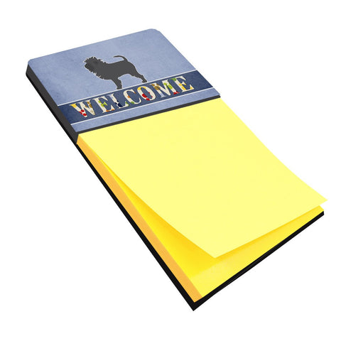 Buy this Affenpinscher Welcome Sticky Note Holder BB5552SN