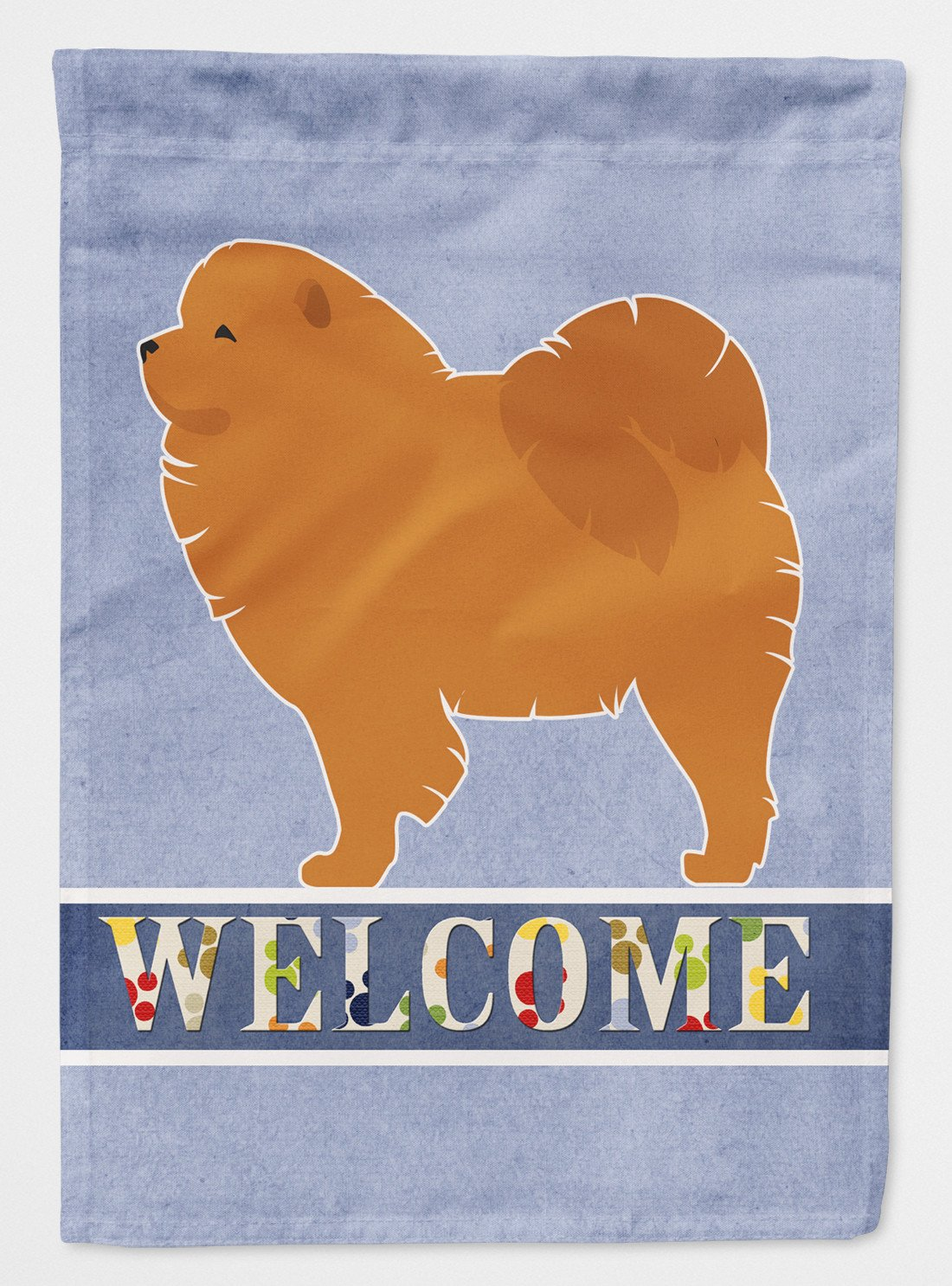 Chow Chow Welcome Flag Garden Size BB5555GF by Caroline's Treasures