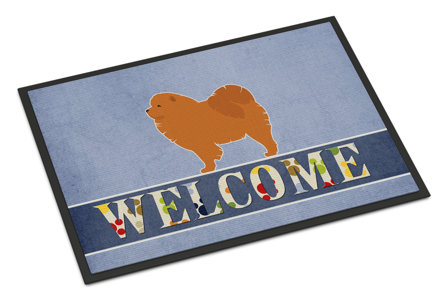 Chow Chow Welcome Indoor or Outdoor Mat 18x27 BB5555MAT by Caroline's Treasures