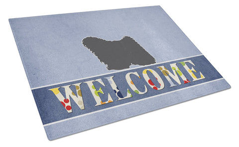 Buy this Puli Welcome Glass Cutting Board Large BB5567LCB