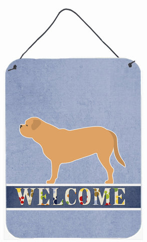 Buy this Dogue de Bordeaux Welcome Wall or Door Hanging Prints BB5574DS1216