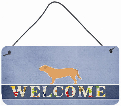 Buy this Dogue de Bordeaux Welcome Wall or Door Hanging Prints BB5574DS812