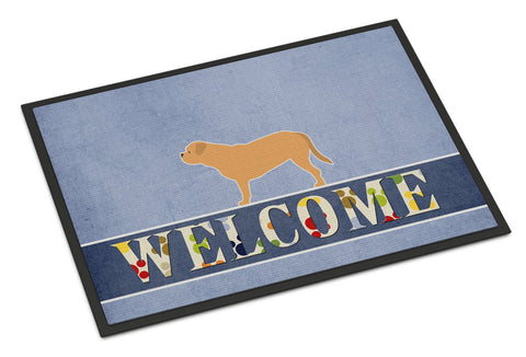 Buy this Dogue de Bordeaux Welcome Indoor or Outdoor Mat 24x36 BB5574JMAT
