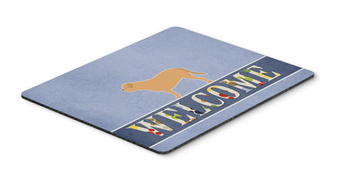 Buy this Dogue de Bordeaux Welcome Mouse Pad, Hot Pad or Trivet BB5574MP
