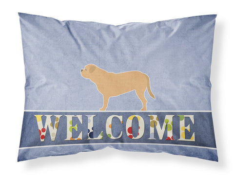 Buy this Dogue de Bordeaux Welcome Fabric Standard Pillowcase BB5574PILLOWCASE