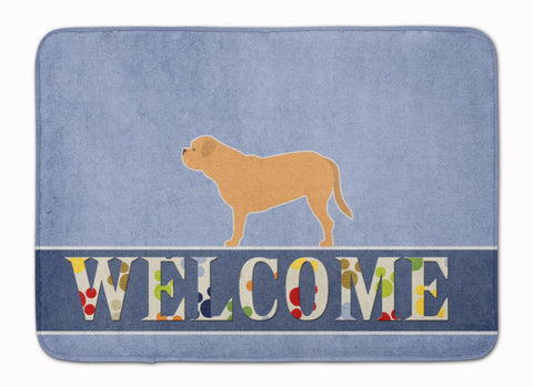 Buy this Dogue de Bordeaux Welcome Machine Washable Memory Foam Mat BB5574RUG
