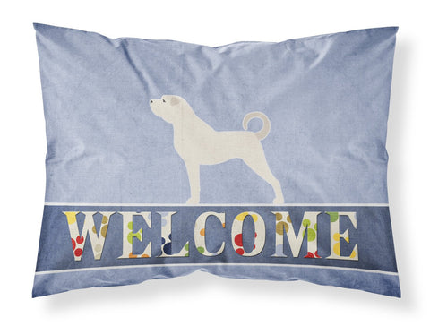 Buy this Anatolian Shepherd Welcome Fabric Standard Pillowcase BB5581PILLOWCASE