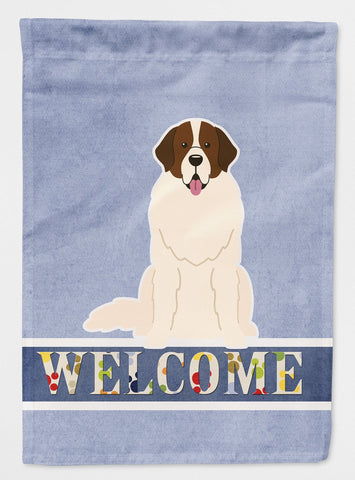 Buy this Moscow Watchdog Welcome Flag Garden Size BB5608GF
