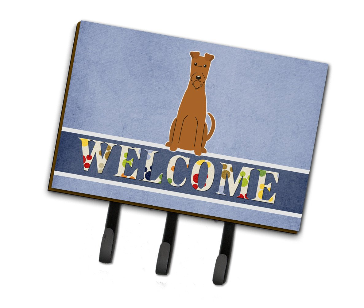 Irish Terrier Welcome Leash or Key Holder BB5643TH68 by Caroline's Treasures
