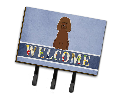 Buy this Irish Water Spaniel Welcome Leash or Key Holder BB5644TH68