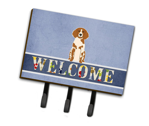 Buy this Brittany Spaniel Welcome Leash or Key Holder BB5653TH68