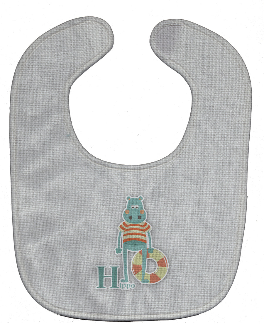 Buy this Alphabet H for Hippopotamus Baby Bib BB5733BIB