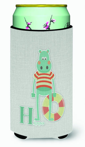 Buy this Alphabet H for Hippopotamus Tall Boy Beverage Insulator Hugger BB5733TBC