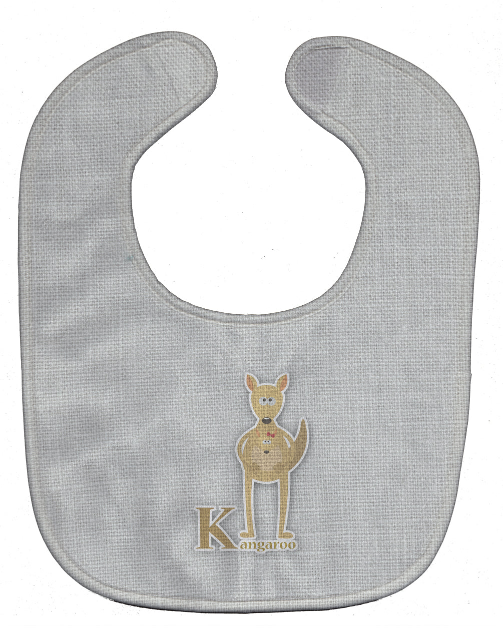 Buy this Alphabet K for Kangaroo Baby Bib BB5736BIB
