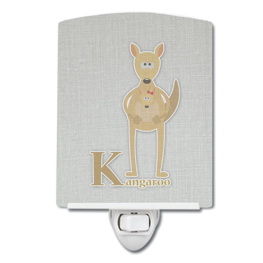 Buy this Alphabet K for Kangaroo Ceramic Night Light BB5736CNL
