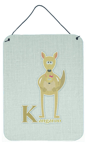 Buy this Alphabet K for Kangaroo Wall or Door Hanging Prints BB5736DS1216