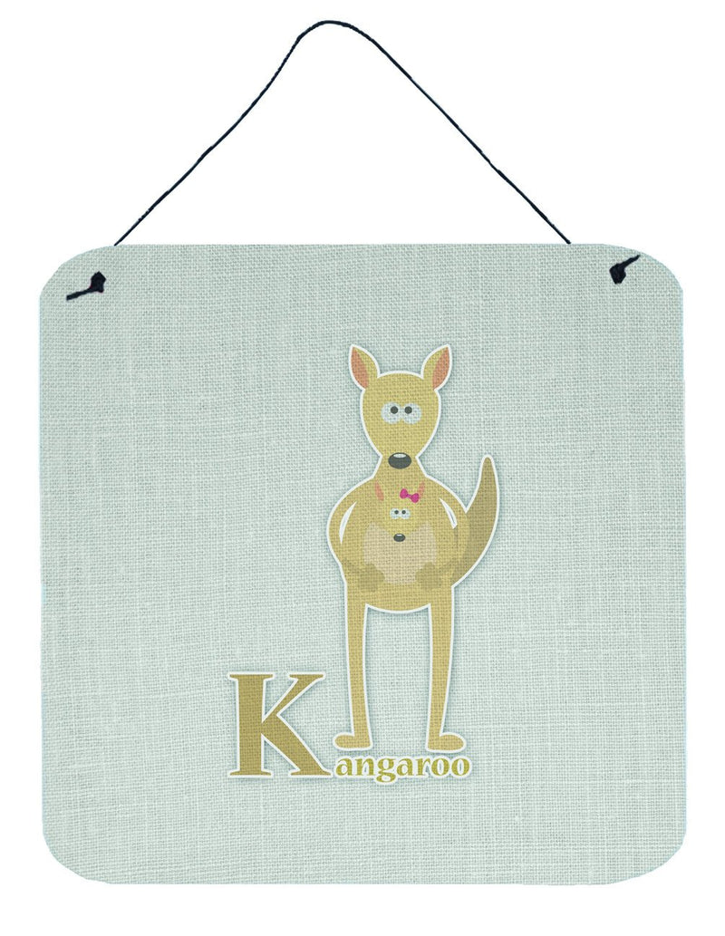 Buy this Alphabet K for Kangaroo Wall or Door Hanging Prints BB5736DS66