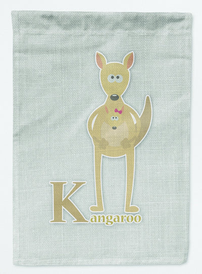 Buy this Alphabet K for Kangaroo Flag Garden Size BB5736GF