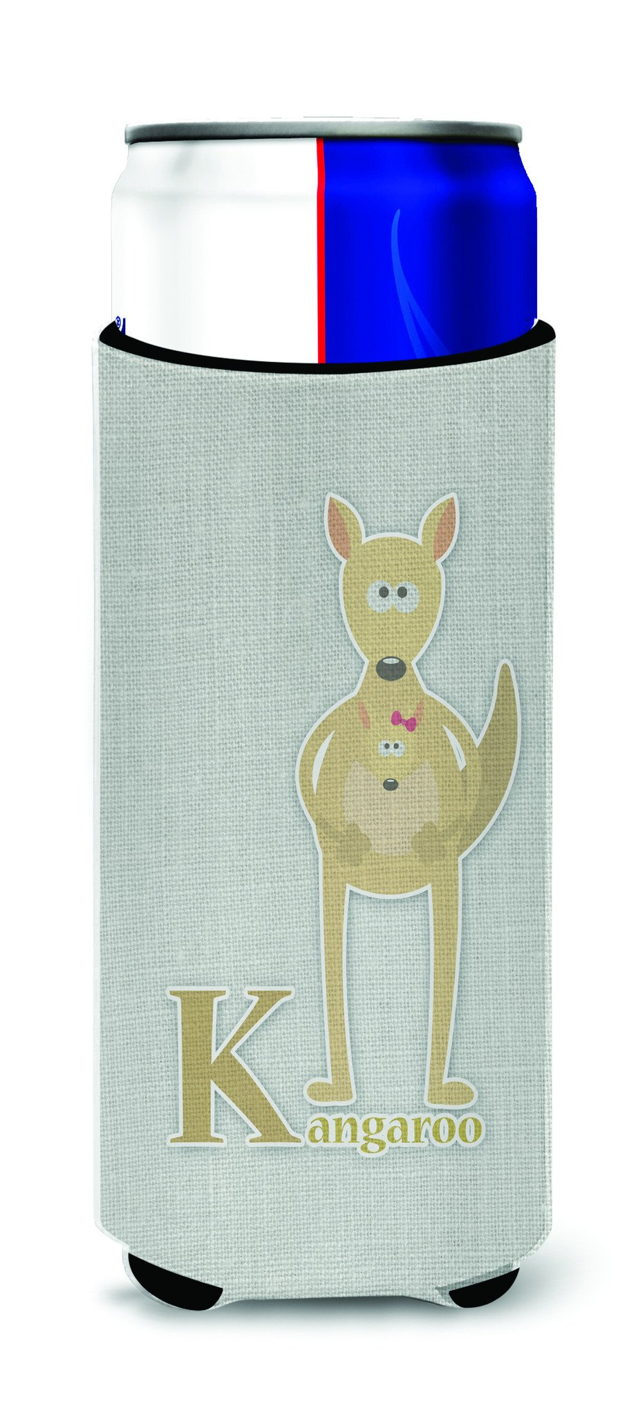 Buy this Alphabet K for Kangaroo Michelob Ultra Hugger for slim cans BB5736MUK