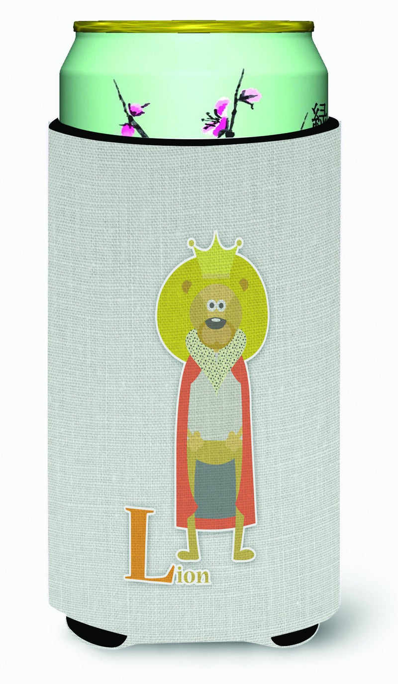 Alphabet L for Lion Tall Boy Beverage Insulator Hugger BB5737TBC by Caroline's Treasures
