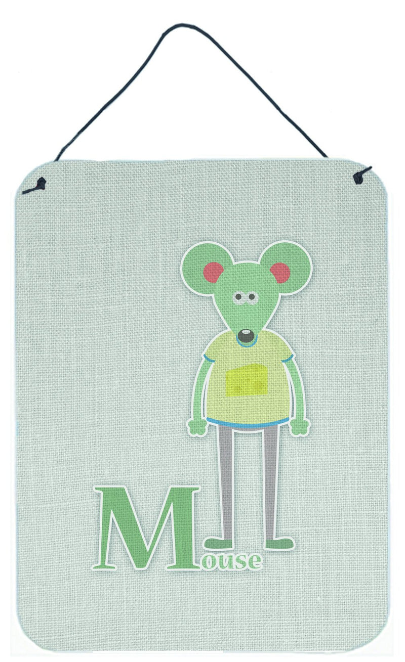 Buy this Alphabet M for Mouse Wall or Door Hanging Prints BB5738DS1216