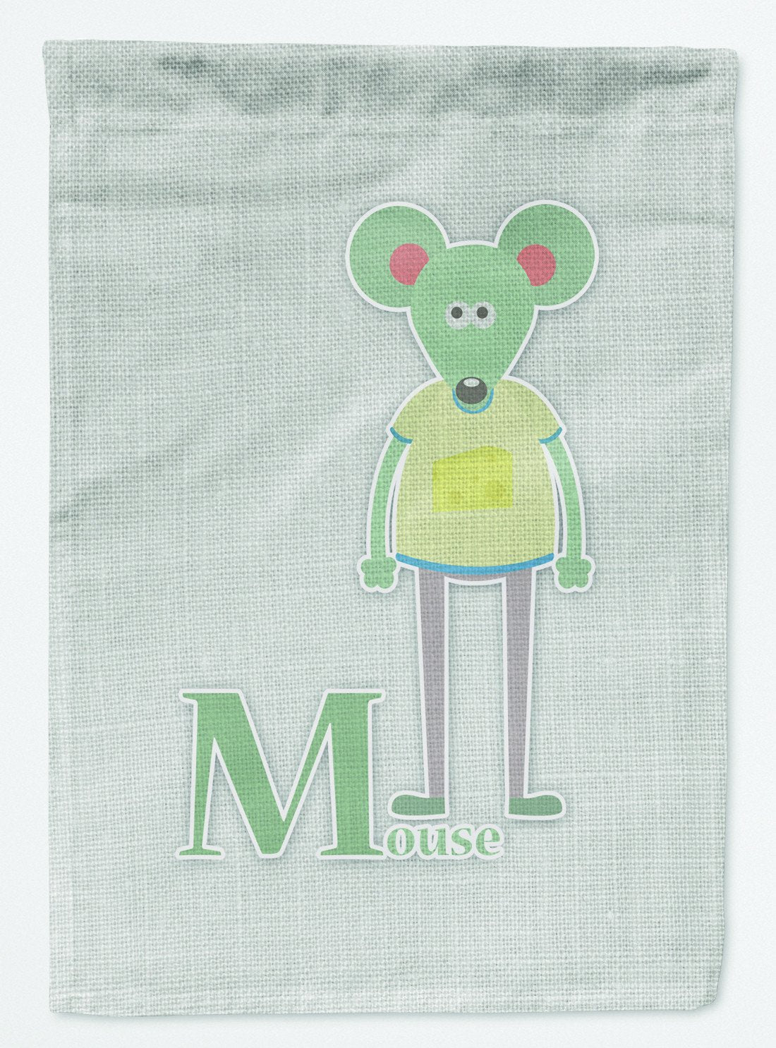 Buy this Alphabet M for Mouse Flag Garden Size BB5738GF