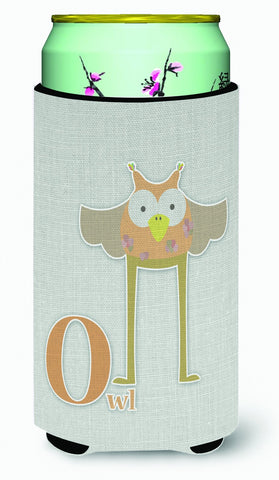 Buy this Alphabet O for Owl Tall Boy Beverage Insulator Hugger BB5740TBC