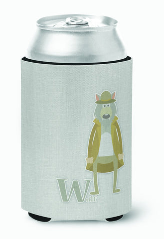 Buy this Alphabet W for Wolf Can or Bottle Hugger BB5748CC