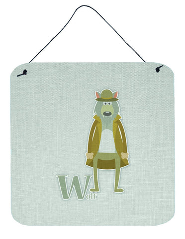 Buy this Alphabet W for Wolf Wall or Door Hanging Prints BB5748DS66