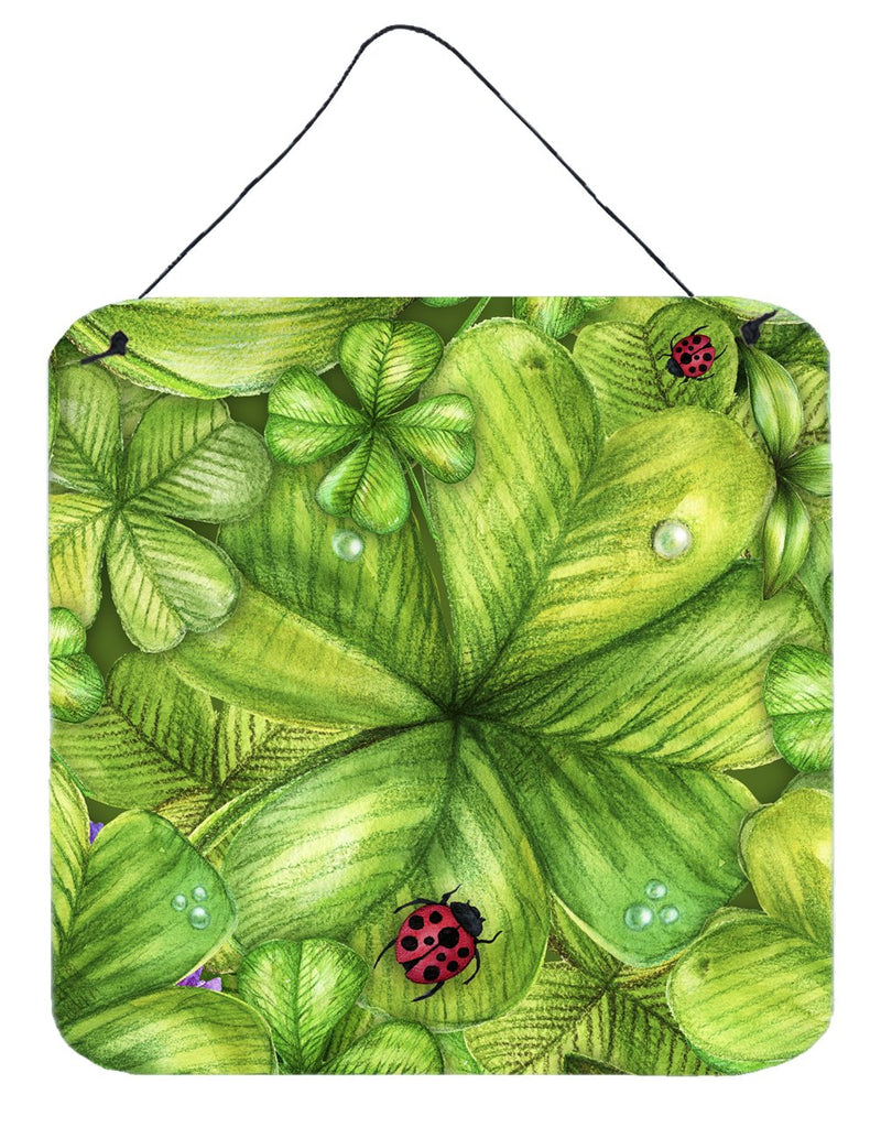 Buy this Shamrocks and Lady bugs Wall or Door Hanging Prints