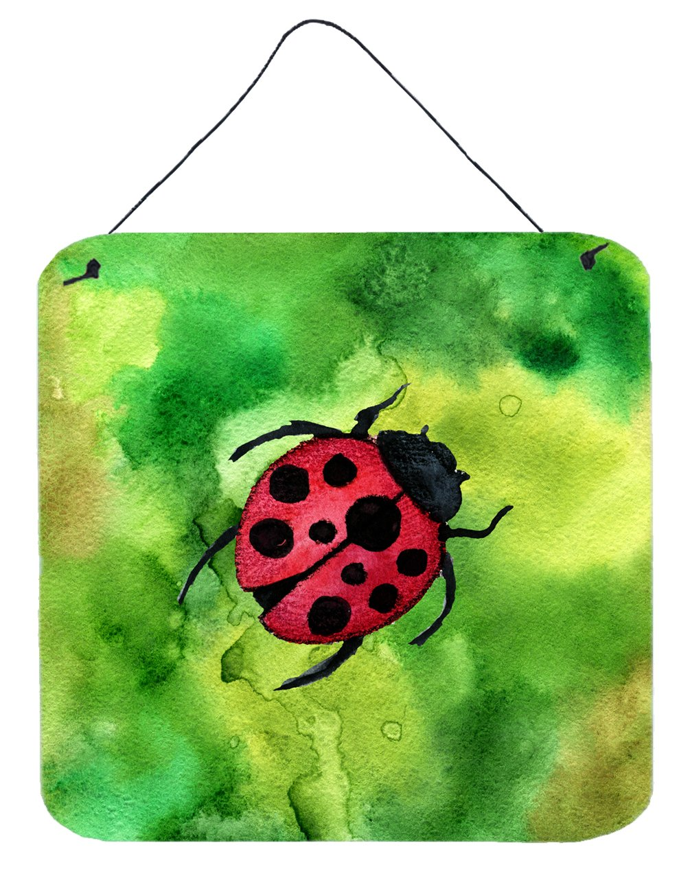 Irish Lady Bug Wall or Door Hanging Prints by Caroline's Treasures