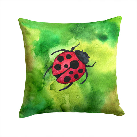 Buy this Irish Lady Bug Fabric Decorative Pillow BB5770PW1414